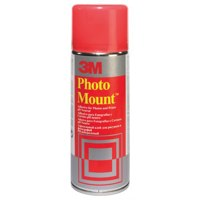3M Photo Mount Adhesive Spray CFC Free 400ml