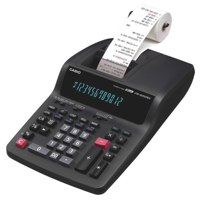 Casio 12 Digit Printing Calculator Black