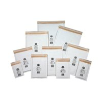 Image for Jiffy Mailmiser Protective Envelopes Bubble-lined No.000 White 90x145mm Ref JMM-WH-000 [Pack 150]