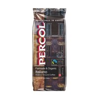 Percol Fairtrade Italiano Ground Coffee Organic Medium Roasted 227g Ref 0403244