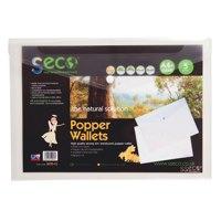 SS 100% Oxo Bio Clear Popper Wallet PK5