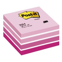 Post-it Note Cube 76x76mm Pastel PK