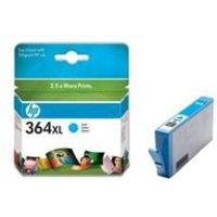 HP 364XL Cyan Ink Cartridge CB323EE