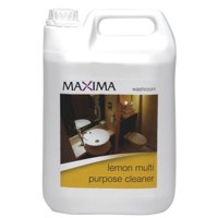 Cleaning Chemicals Maxima Lemon All Purpose Cleaner 5 Litre