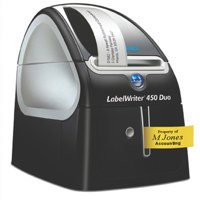 Dymo Labelwriter 450 Duo USB with Software 71 per minute for 13 Types and D1 6-24mm Ref S0838960