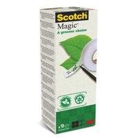 Scotch 900 Magic Tape 19x33m Pk9