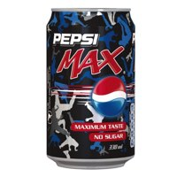 Pepsi Max Soft Drink Can 330ml Ref 203387 [Pack 24]