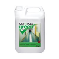 Cleaning Chemicals Maxima Green Neutral Floor Cleaner 5L PK1