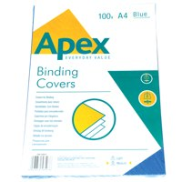 Cover Boards ValueX Leatherboard Covers Blue A4 6501101 (Pack 100)