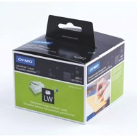 Labelling Tapes & Labels Dymo LabelWriter Large Address Labels Clear Plastic 36 x 89mm