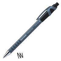 Ball Point Pens Paper Mate Flexgrip Ultra Retractable Ballpoint Pen 1.0mm Tip 0.5mm Line Black (Pack 12)
