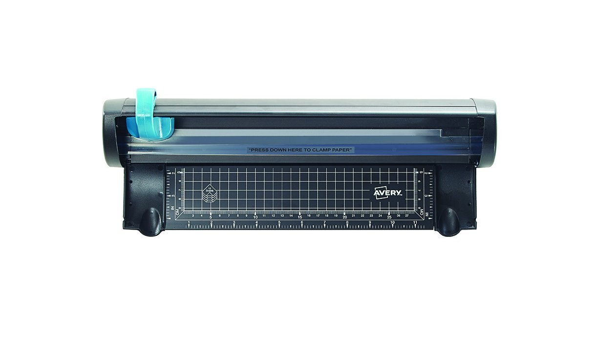Avery Compact Trimmer Cutting Length 320mm Capacity 10x 80gsm Area 430x75mm A4 Ref A4CT