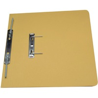 Guildhall Transfer Spring Files 315gsm Capacity 38mm Foolscap Yellow Ref 348-YLWZ [Pack 50]