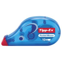 Tipp-Ex Pocket Mouse Correction Tape Roller Disposable 4.2mmx9m Ref 8207891