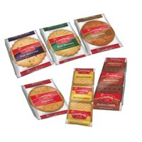 Crawfords Mini Packs Assorted Biscuits 6 Varieties Ref 0401005 [Pack 100]