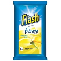 Flash All Purpose Cleaning Wipes Lemon Fragrance [Pack 120]