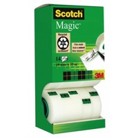 Scotch MagTape Invisible 19mmx33mPK12+2