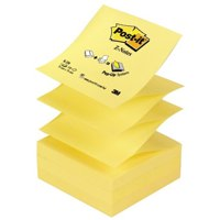 Post-it Z-Note 76x76mm Yellow Pk12 R330
