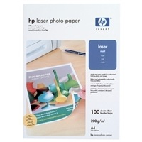 Hewlett Packard [HP] Laser Photo Paper Matt 200gsm A4 Ref Q6550A [100 Sheets]