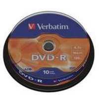 Verbatim DVD-R Spindle PK10