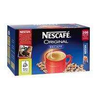Nescafe Original Instant Coffee Granules Decaffeinated Stick Sachets Ref 12138013 [Pack 200]
