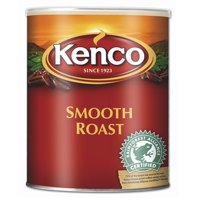 Kenco Smooth Instant Coffee in a Resealable Tin 750g