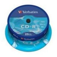 Verbatim CD-R Extra Protection Ref 43432-1 [Pack 25]