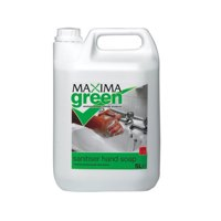 Value Maxima Green Sanitiser Soap 5 Litre