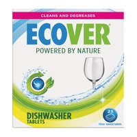 Cleaning Chemicals Ecover Dishwasher Tablets (Pack 25)
