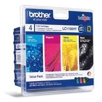 Brother LC1100VALBP Black Colour Ink 10ml 3x6ml Multipack