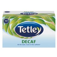 Tetley Tea Bags Decaffeinated High Quality Ref 5001E [Pack 160]
