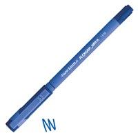 Ball Point Pens Paper Mate Flexgrip Ultra Ballpoint Pen 1.0mm Tip 0.4mm Line Blue (Pack 12)