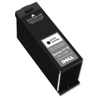 Dell No. X739N Series 21R Inkjet Cartridge Standard Capacity Page Life 180pp Black Ref 592-11396