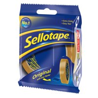 Clear Tape Sellotape Golden Tape 18mmx66m (Pack 16)