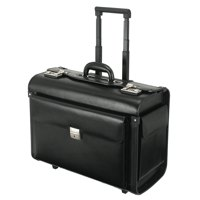 Briefcases & Luggage Alassio SILVANA Trolley Pilot Case Black
