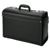 Briefcases & Luggage Alassio Genova Pilot Case Black