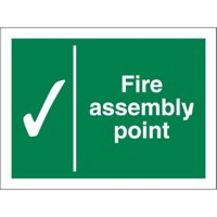 Fire Fire Assembly Point Sign