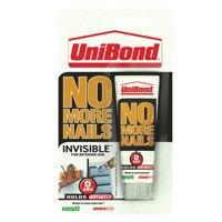 UniBond No More Nails Invisible 50ml Mini Tube Ref 1430132