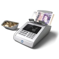 Safescan 6185 Coin and Banknote Counter Ref 131-0457