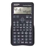 Aurora Black Dot Matrix Scientific Calc