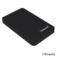 Intenso Black USB 2Tb Hard Drive