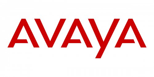 Avaya Black Curly Cords Long Tail