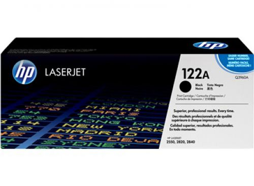 HP Q3960A 122A Black Toner 5K