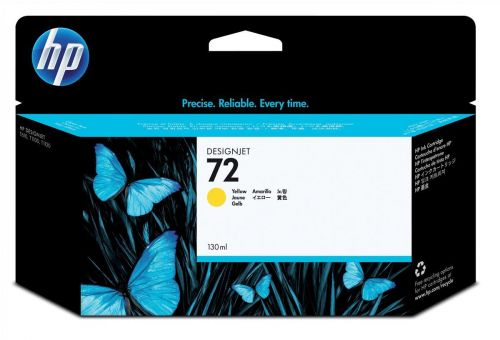 HP C9373A 72 Yellow Ink 130ml