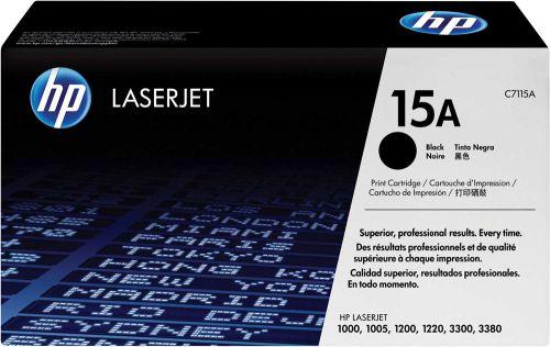 HP C7115A 15A Black Toner 2.5K