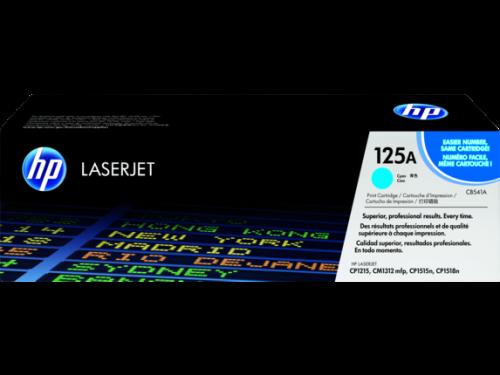 HP CB541A 125A Cyan Print 1.4K