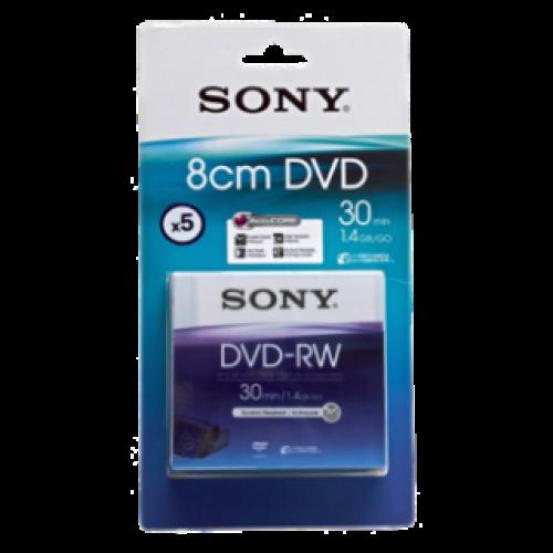 Sony 8cm Handycam DVD-RW 30Min 5Pack