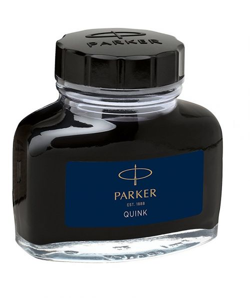 Parker Quink Bottled Ink for Fountain Pens 57ml Blue