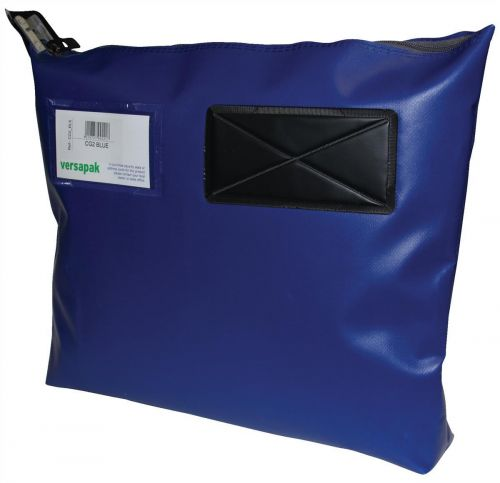 Versapak Single Seam Mail Pouch Large Blue