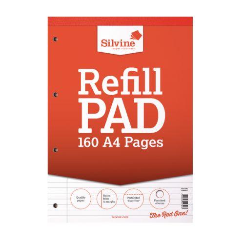 Silvine A4 Refill Pad Feint Margin PK6